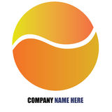 Company logo. Design on white background Stock Photos