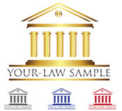 Company Logo. Logo concept,law signs and symbol,icon Stock Photo