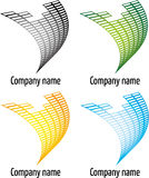 Company logo. Abstract variations of company logo Stock Photo