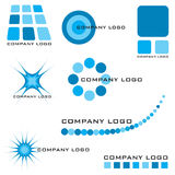 Company logo. Collection of company logos solutions with many variations Stock Photos