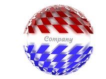 Company logo. Abstract atom ball bubble bulb circle clear close-up crystal digital drop energy form future futuristic glass globe glossy illustration isolated Stock Photos