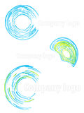 Company logo abstract set 2 Stock Photos