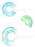 Company logo abstract set 2 Stock Photos