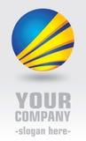 Company logo design. Conceptual design of logo for your company Stock Photo