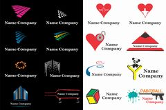 COMPANY LOGO DESIGN Stock Images