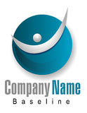 Company Logo Graphic Royalty Free Stock Photography