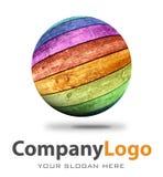 Company logo illustration Royalty Free Stock Photos