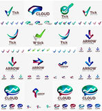 Company logo mega collection Royalty Free Stock Photos