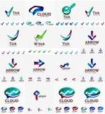Company logo mega collection Royalty Free Stock Photos