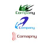 Company logo pack Stock Image
