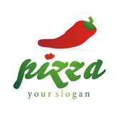 Company logo pizza Royalty Free Stock Photography