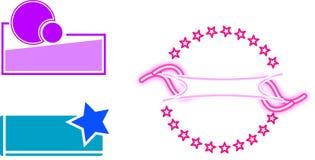 Company logos Stock Image