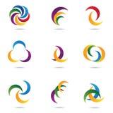 Company logos Stock Photos