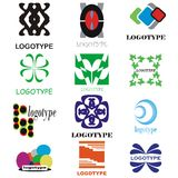 Company logos Royalty Free Stock Photography