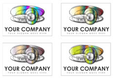 Company logos Royalty Free Stock Photography