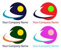 Company Logos Vector design Royalty Free Stock Image