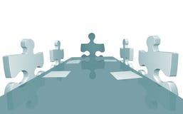 Company Meeting Royalty Free Stock Photos