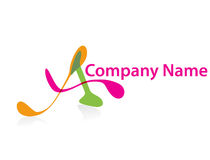 Company name. Logos with your company name royalty free illustration