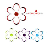 Company name, bio icon Royalty Free Stock Image