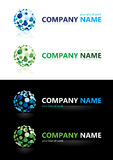 Company name. Design elements. Illustration Stock Photos
