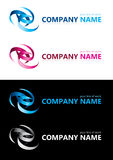 Company name. Design elements. Illustration Royalty Free Stock Photos