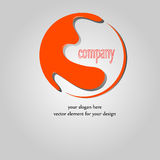Company name design Royalty Free Stock Images