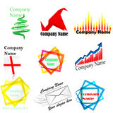 Company name and logo Stock Photos