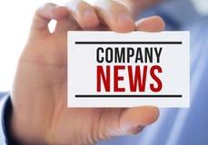 Company news Royalty Free Stock Photography