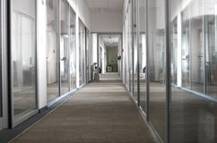 Company offices interior stock image