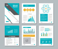 Company profile ,annual report , brochure , flyer, layout template, royalty free illustration