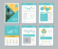 Company profile ,annual report , brochure , flyer, page layout template. Page design layout template for brochure flyer and report concept Stock Photo