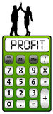 Company profit. Making lots of profit for the company Stock Photo