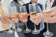 Company's celebration Royalty Free Stock Image