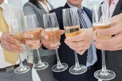 Company's celebration Royalty Free Stock Image