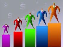 Company sales Royalty Free Stock Photography