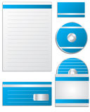 Company set with stripes Stock Images