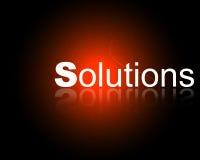Company Solutions vector illustration