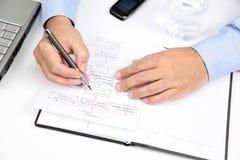 Company Strategy Royalty Free Stock Photo