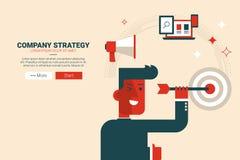 Company strategy concept Stock Photo
