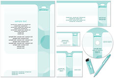 Company style. Company template -easy editable flat colors without gradients. (vector available vector illustration