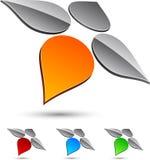 Company symbol. Stock Image