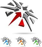 Company symbol. Royalty Free Stock Images