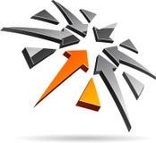 Company symbol. Stock Photo