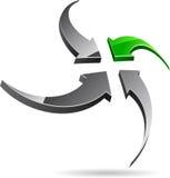 Company symbol. Royalty Free Stock Image