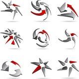 Company symbols. Stock Image