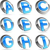 Company symbols. Royalty Free Stock Photos