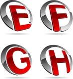 Company symbols. Royalty Free Stock Images