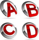 Company symbols. Stock Photo