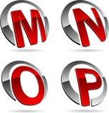 Company symbols. Stock Images