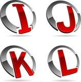 Company symbols. Royalty Free Stock Image